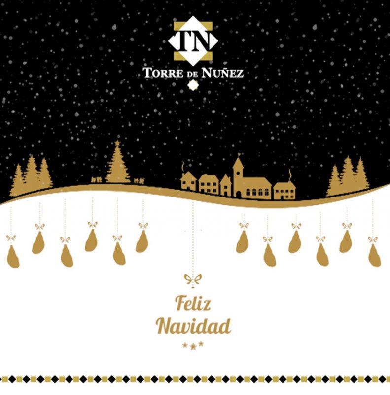 Feliz Navidad. Torre de Núñez