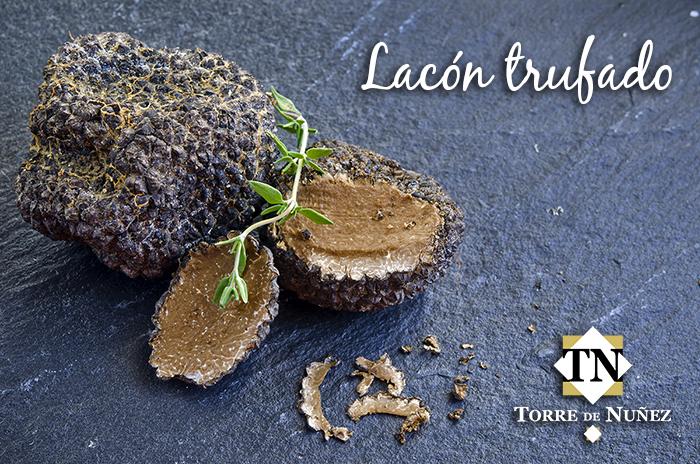 Receta de jamón trufado Torre de Núñez