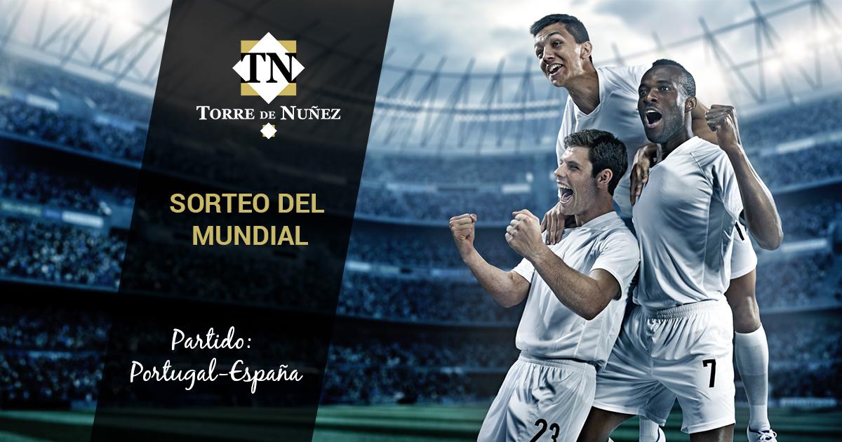Sorteo del Mundial 2018 Torre de Núñez. Primer sorteo