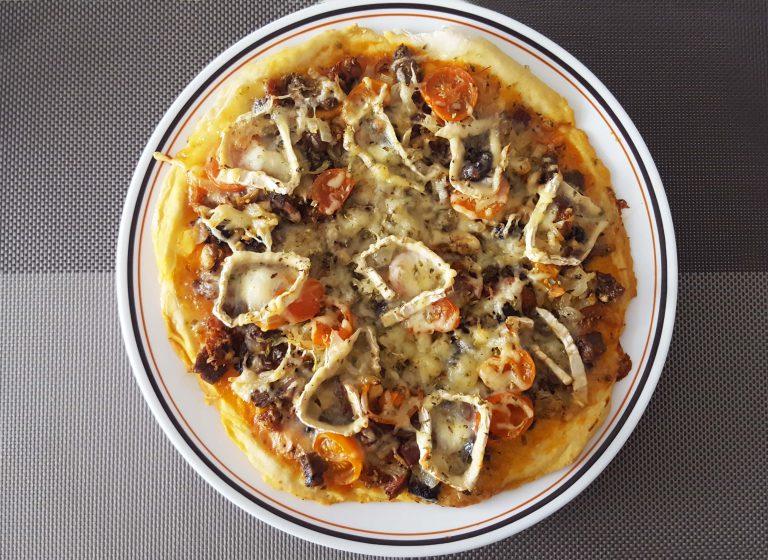Pizza De Cocido Gallego