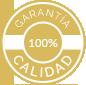 Garantía de Calidad 100%