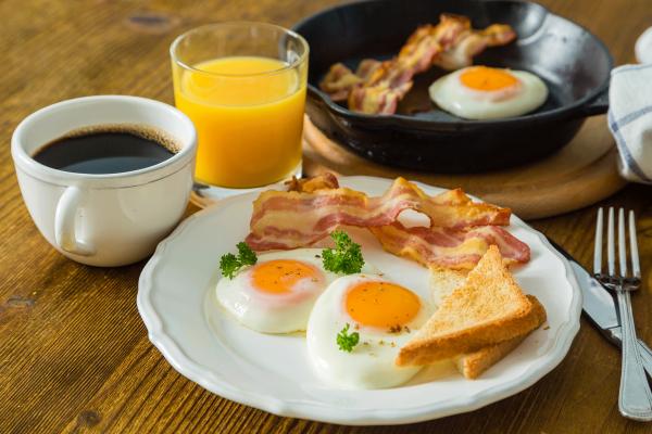 Desayuno con panceta