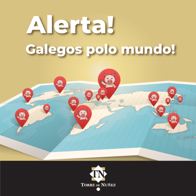 Galegos polo mundo