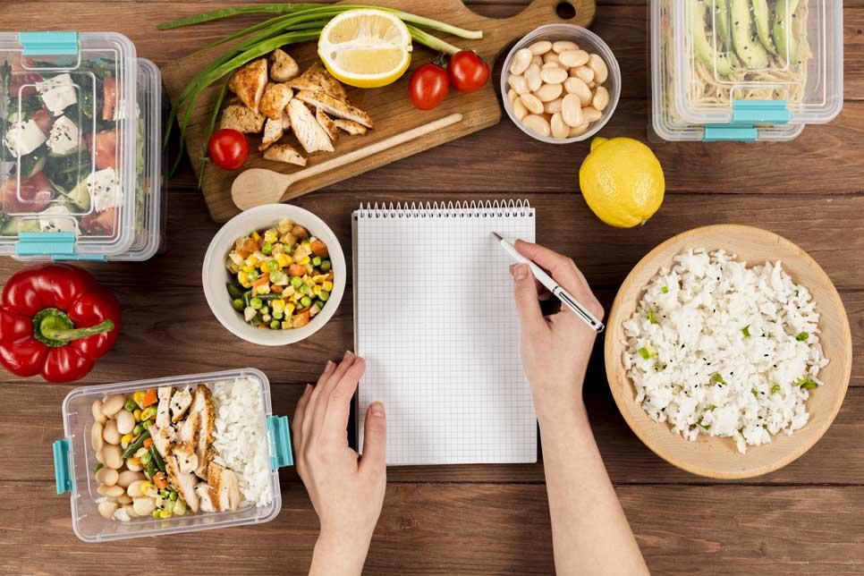 planificar menu semanal