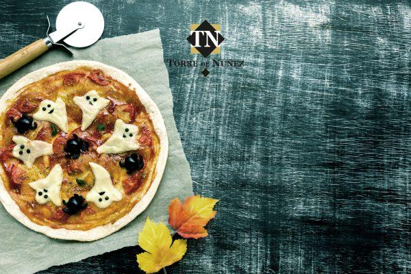 Pizza Lacón y Champiñones Torre de Núñez