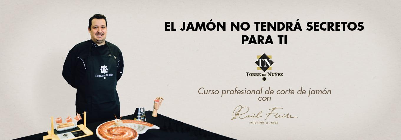 Corte de jamón Raúl Freire