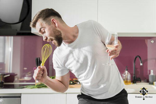 estrés en la cocina