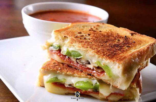 Sandwich de salchichón